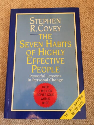 1 of 1 - The 7 Habits of Highly Effective People: Powerful Lessons in Personal Change by…