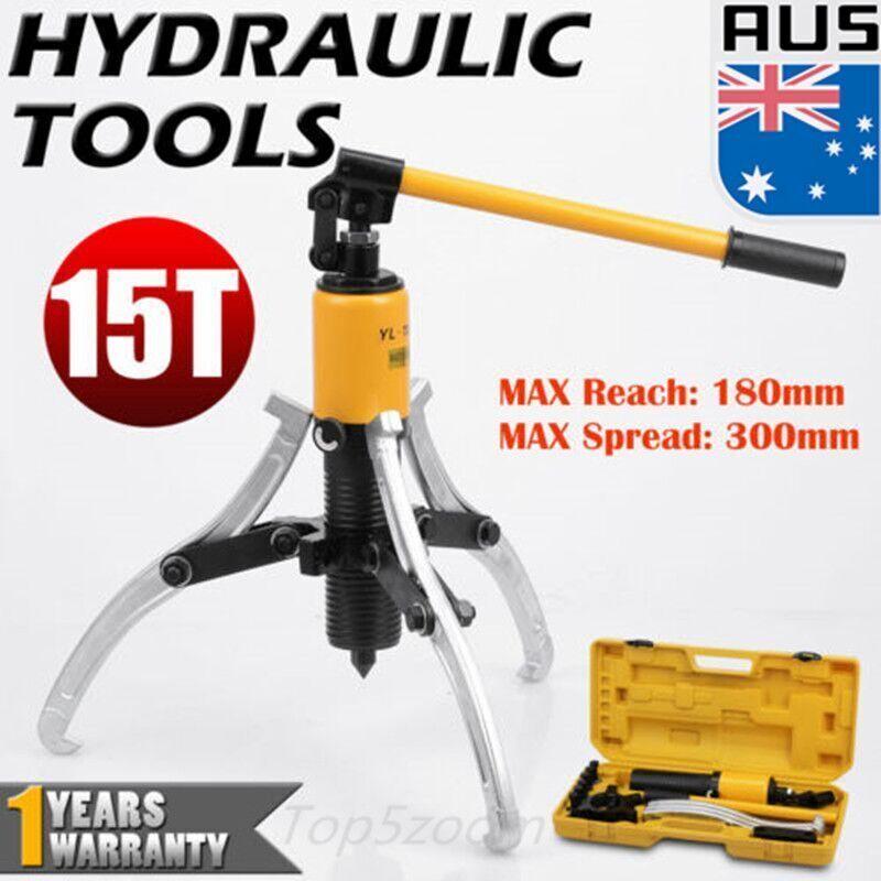 Heavy Duty 15t Hydraulic Bearing Garage Gear Puller Set