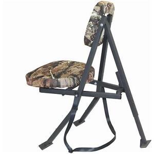 Redneck Folding Swivel Hunting Blind Chair Tree Camo