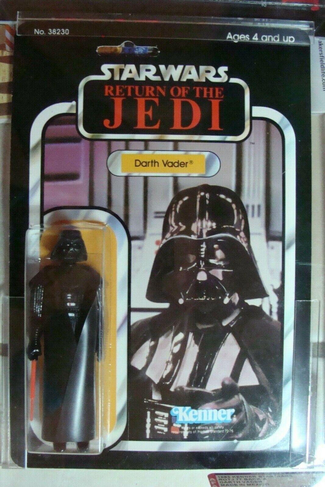 Star Wars Afa  75 Darth Vader Fabriqué en Mexico Action Figurine 1983 Kenner  forme unique