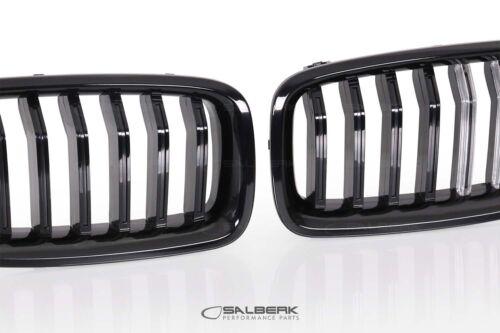 Negro brillante iluminados LED riñones 3er bmw f30 Limousine salberk 3002 dled
