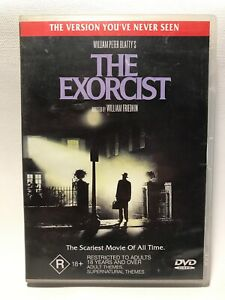 The-Exorcist-The-Version-You-039-ve-Never-Seen-DVD-2001-Rated-R18-Region-4
