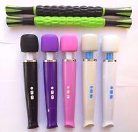 Cordless 8 Speed Full Body Handheld Wand Massager Hitachi Magic Motor Stick