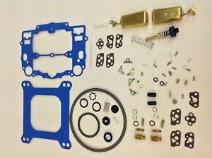 EDELBROCK AFB CARBURETOR BLUE GASKET REBUILD KIT W//FLOATS 1400 1403 1404 1405