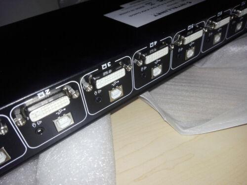 INTELLINET 507912 8-Port KVM COMMUTATORE switch hot key DVI-interfaccia USB