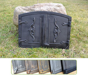 Candid 55,5x41cm Cast Iron Fire Door Clay Pizza Stove Smoke House Dz017 Bread Oven