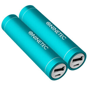 2x-Power-Bank-Akku-2600-mAh-Ladegeraet-extern-USB-iPhone-4-4S-tuerkis-NT003