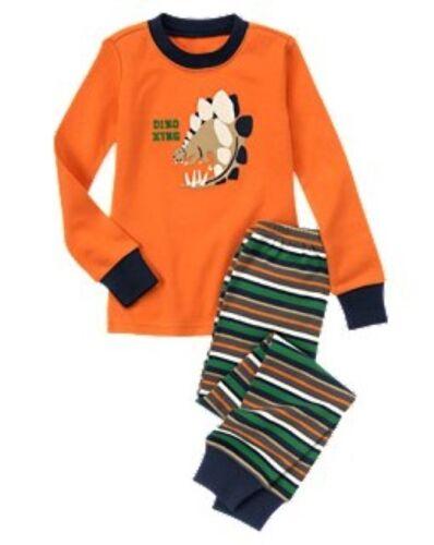NWT Gymboree Dinosaur Dino Xing Gymmies Sleep Set Pajamas PJ Sleepwear Boys 7 8