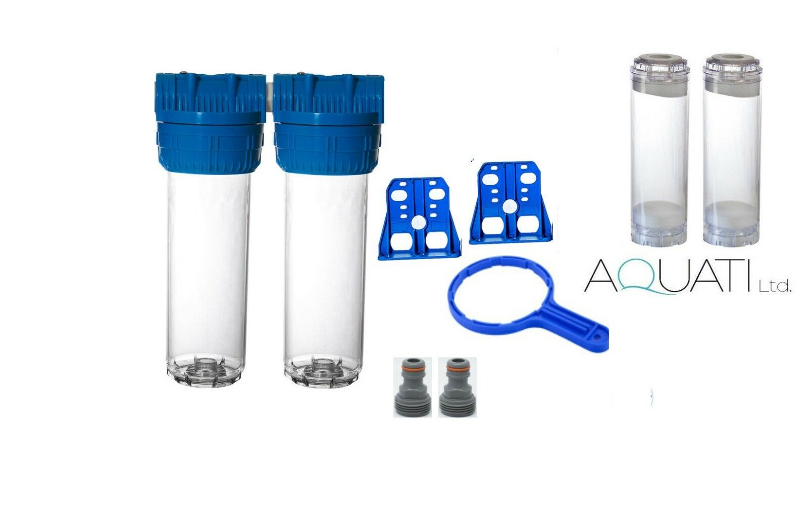 High Flow Double Fluidised Bed Filter For Aquarium Filtration Phosphate Reactor
