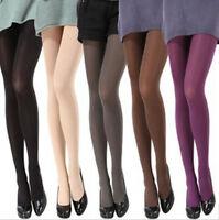 Women Ladies Opaque Pantyhose Velvet Coloured Tights Stockings Multi Colors