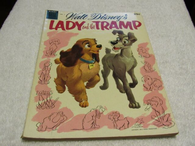 Lady and the Tramp #1 (Jun 1955, Dell)