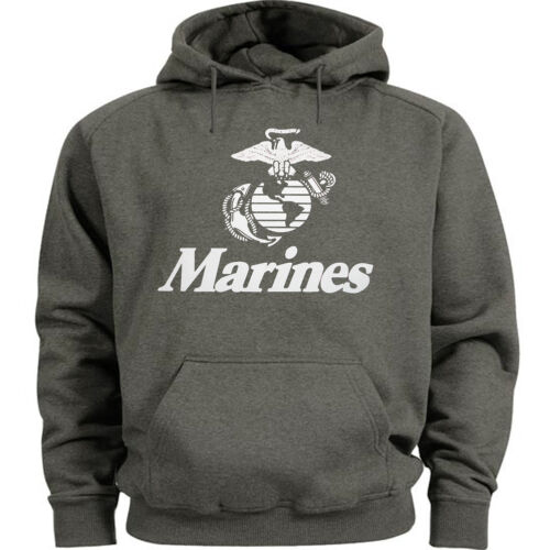 USMC hoodie Men/'s size US Marines hooded sweatshirt marine corps sweat shirt