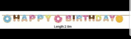 Donut Birthday Party Supplies Set ~ 16 Guests ~ Donut Party Decorations for kids