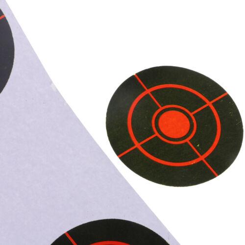 250Pcs Cibles de Tir Arc Cibles en Papier Auto-Adhésif Cible Entraînement