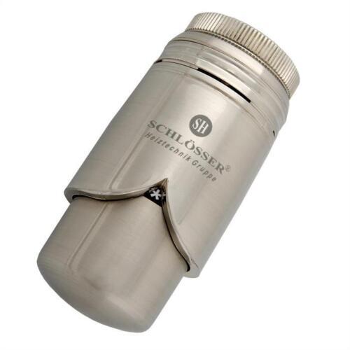Thermostatkopf massiv edelstahl für Heizkörper oder Badheizkörper