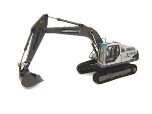 Motorart-13340-Volvo-EC240B-Excavator-Silver-1-87-Brand-new-MIB