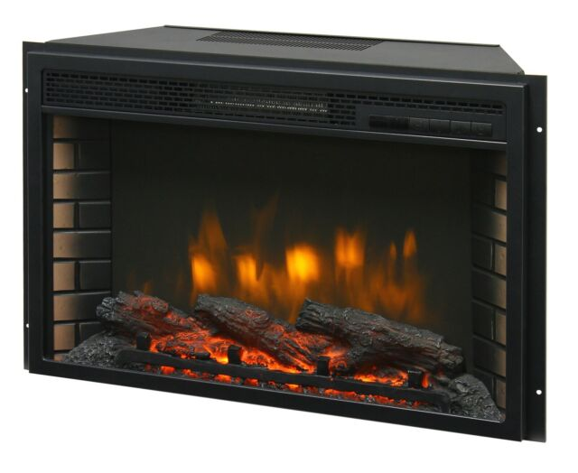 Excellent 26 Electric Firebox Insert With Fan Heater And Glowing Logs For Fireplace Download Free Architecture Designs Intelgarnamadebymaigaardcom