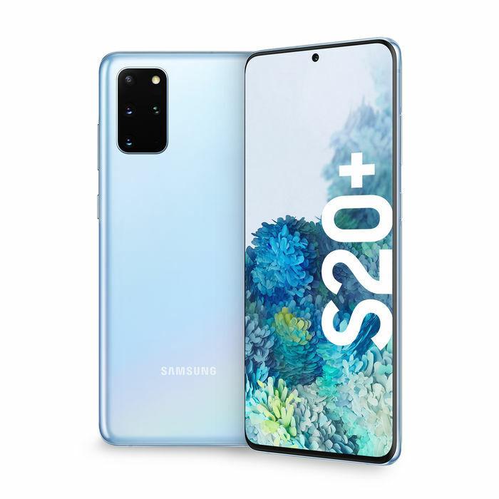 Samsung Galaxy: Samsung Galaxy S20+ Plus SM-G985 8+128GB Dual Sim 4G LTE CLOUD BLUE