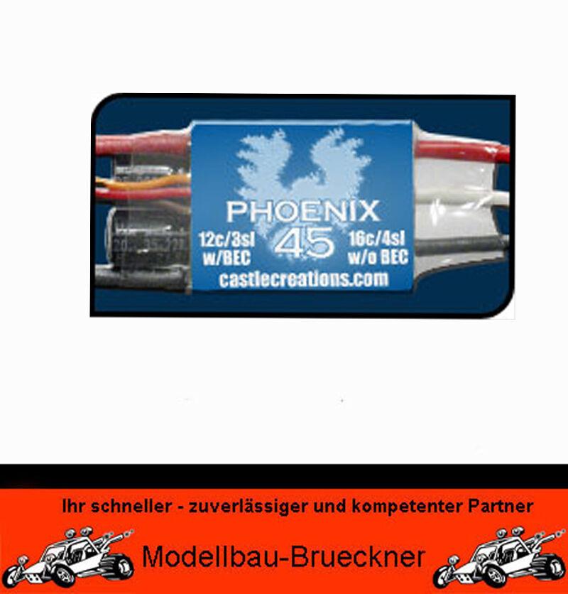 CC PHOENIX 45 Régulateur F. F. F. Balai moteurs Twister Jet Multiplex 289010 989676