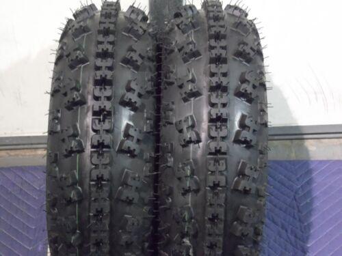 "21X7-10 21/"" FRONT 2 TIRE SET YAMAHA YFM 350 RAPTOR QUADKING SPORT ATV TIRES"