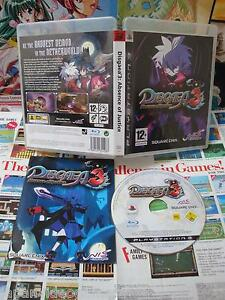 Playstation-3-PS3-Disgaea-3-Absence-of-Justice-TOP-SQUARE-ENIX-COMPLET-UK