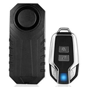 113dB-Inalambrico-Anti-robo-Vibracion-Moto-Bicicleta-Seguridad-Alarma-Con