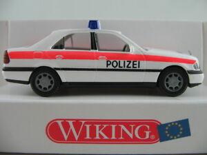 Wiking-10403-Mercedes-Benz-Clase-C-Limousine-1997-034-policia-Viena-034-1-87-h0-nuevo-en-el-embalaje