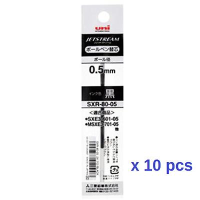 Uni SXR-80-05 10 Refill Jetstream Ballpoint Multi Pen 0.5mm Black Color Japan