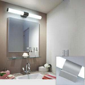 Details About Modern Bathroom Led Mirror Front Light Vanity Toilet Wall Mount Lamp Sconces Un