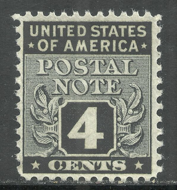 Us Postal Note Stamp Scott Pn4 4 Cent Issue Of 1945 Mnh 3 Ebay