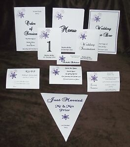 Personalised-Winter-Snowflake-Design-Wedding-Stationery-various-colours