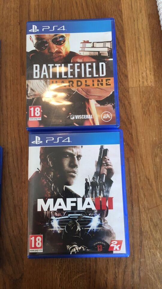 Diverse PS4 spil, PS4, action