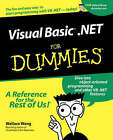 Visual Basic.NET For Dummies by Wallace Wang (Paperback, 2001)