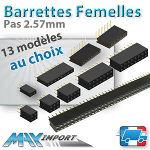 Barrette-connexion-femelles-Non-secables-Lots-multiples-prix-degressif