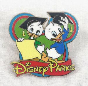 Dewey-Louie-Duck-Trading-Pin-Disney-Parks-Graduation-Hats-Ducktales-Diploma-Grad