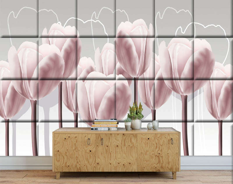 Domestic Firm Petal 3D Full Wall Mural Photo Wallpaper Printing Home Kids Decor