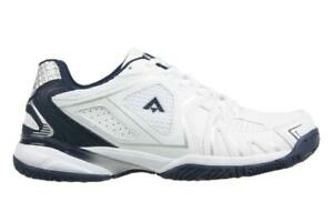AEROSPORT-PURE-Mens-White-Navy-Runners-Running-Lace-Up-Casual-Walking-Shoes