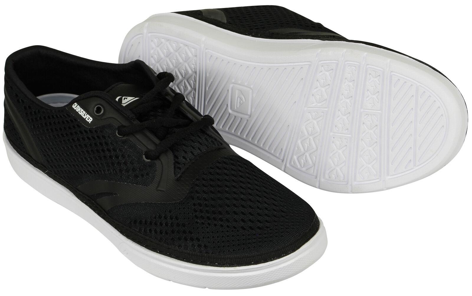 Quiksilver Mens Oceanside shoes - Black White