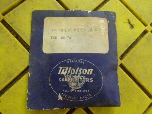 TILLOTSON  RK-902 CARBURETOR REBUILD KIT FOR WB-7A