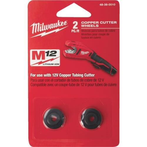 Milwaukee Best High-Performance Copper Tubing Replacement Cutter Wheel (2-Pack)