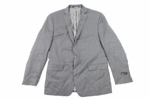 Iii Da 100Lana Giacca Bar Cappotto Slim Blazer Regular 3 44 Nuovo Grigio Uomo Nnm8w0
