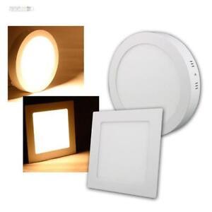 LED-PANNELLI-BIANCO-telaio-Caldo-230V-diversi-tipi-Lampada-da-incasso