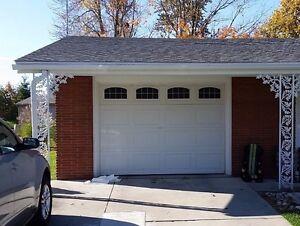 Image Is Loading Garage Door Vinyl Window Decals Arched Style Fake