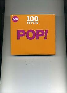 100-HITS-POP-PALOMA-FAITH-JAMES-ARTHUR-JOHN-LEGEND-BROS-LULU-5-CDS-NEW