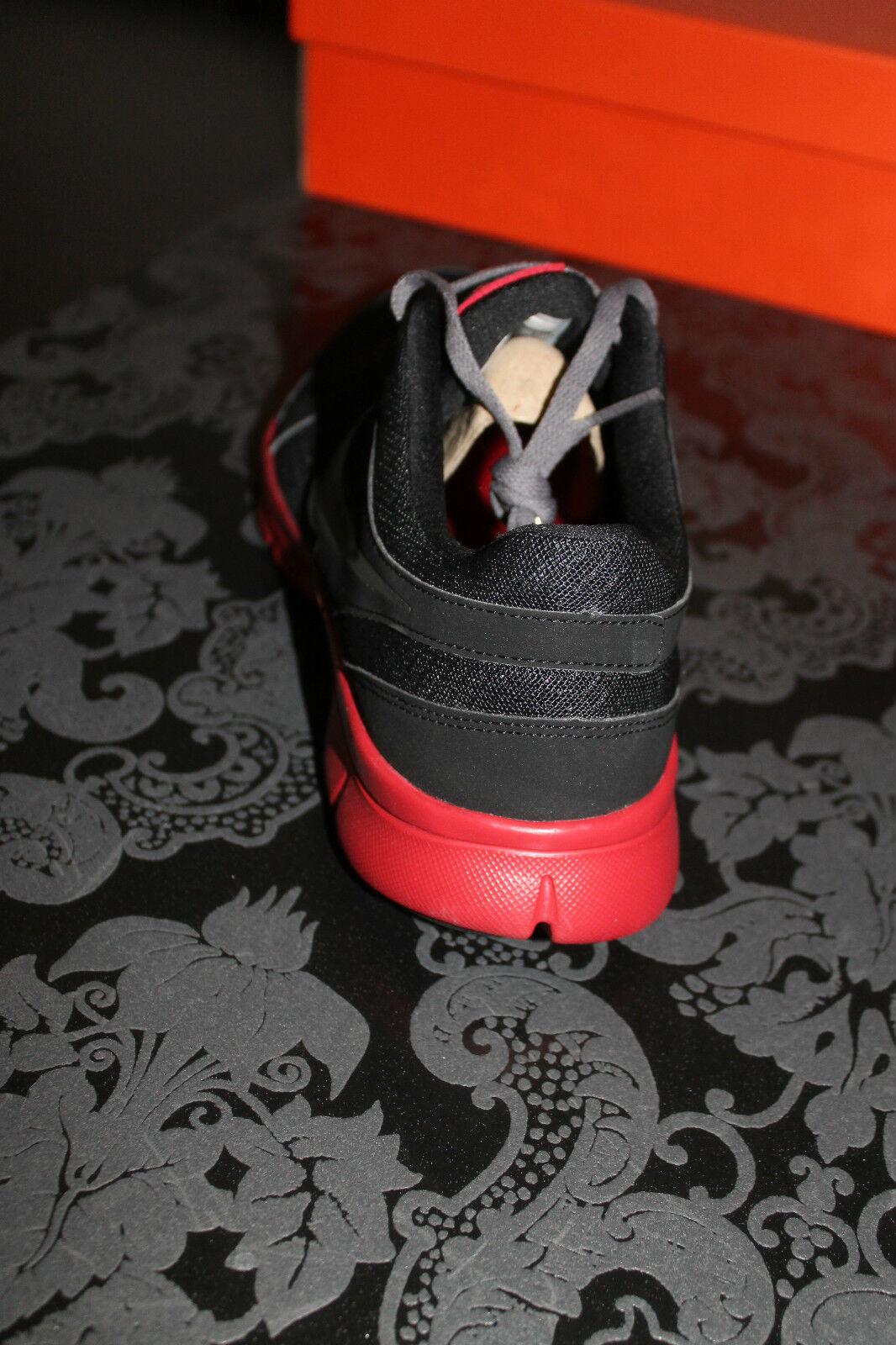 Nike Flex Herren Running Training Schuh US Größe 42,5, UK 8, US Schuh 9 Schwarz Rot Neu 8401eb