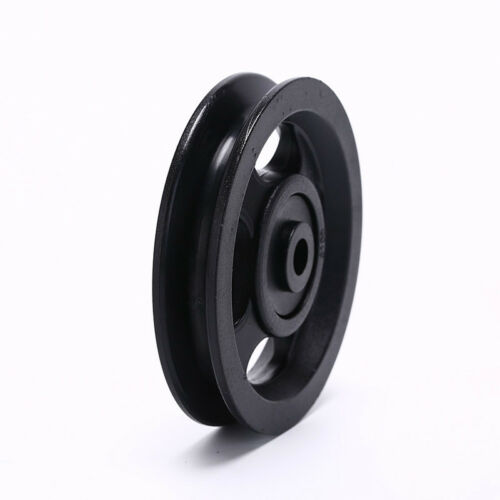 1pc 100mm Black Bearing Pulley Wheel Cable Gym Equipment Part Wearproof JDAY
