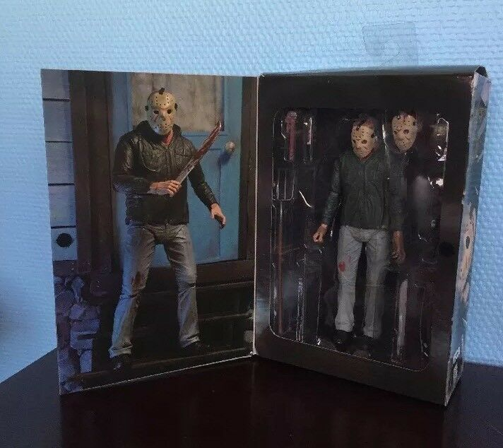 Friday The 13th Part 3 3 3 3D Figurine Neuve NECA 1722b0
