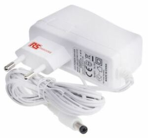 RS Pro, 18W Plug In Power Supply 12V dc, 1.5A Level V 1 Output, 2.1 x 5.5 mm Swi
