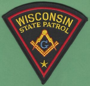 WISCONSIN STATE PATROL PATCH