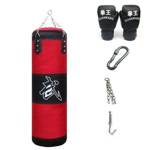 Professional Boxing Punching Bag Training Fitness With Hanging Kick Sandbag SALE